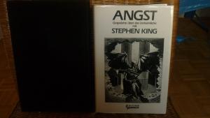 Angst - Gespräche über das Unheimliche mit Stephen King  (Interviews zwischen 1979 und 1987) Buch 182/300